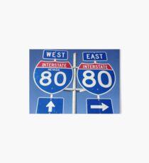 I-80 - Interstate 80 Art Board
