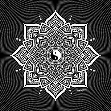 """Duality Mandala"", by Brock Springstead by springstead"