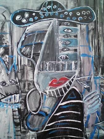 Picassofication in Superstroke semi monochrome by Conrad Bo
