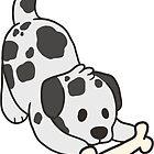 Dalmatian with Bone by ncdoggGraphics