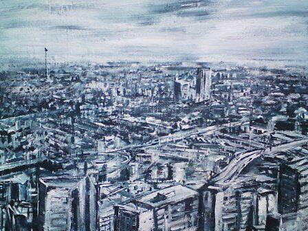 Cityscape in Superstroke by Conrad Bo