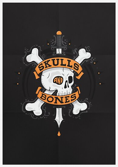SKULLS AND BONES by snevi