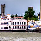 Savannah River Queen by TJ Baccari Photography