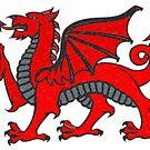 Welsh Dragon by Buckwhite