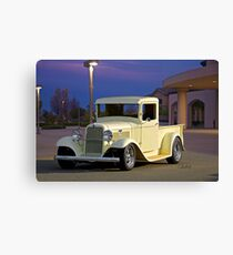 1934 Ford Pickup Truck Canvas Print