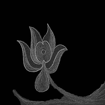 Lonely Dark Flower by KazM
