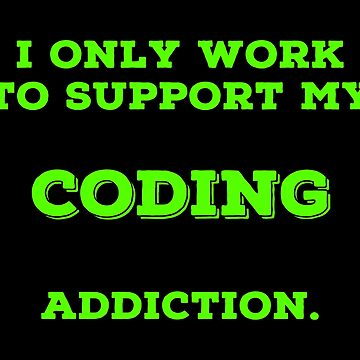 Coding Mad T Shirts. Funny Gift Ideas for Coders. by Bronby