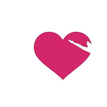 I love Ballet by Designzz