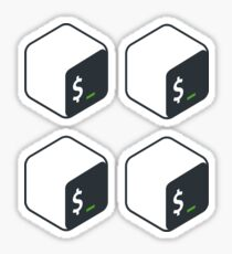 Bash x4 Sticker
