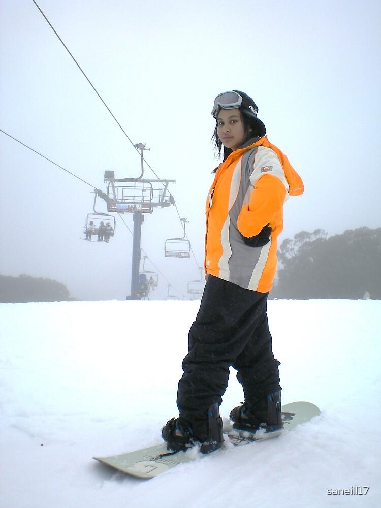 Cj @ the snow by saneill17