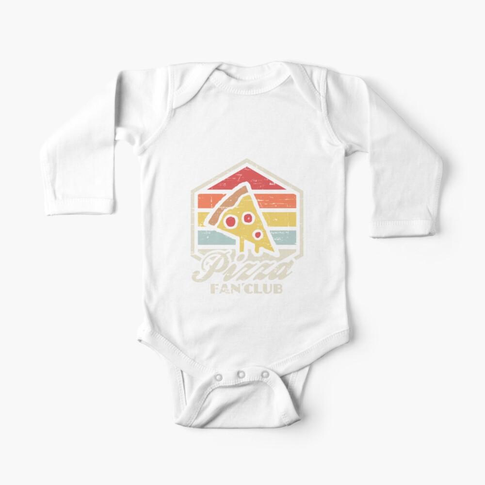 Pizza fan club  Baby One-Piece