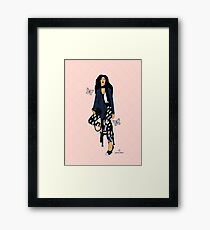 Fashion Illustration  Framed Print