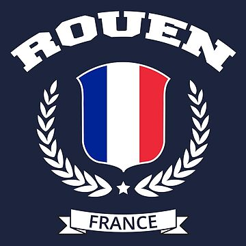 Rouen France T-shirt by SayAhh