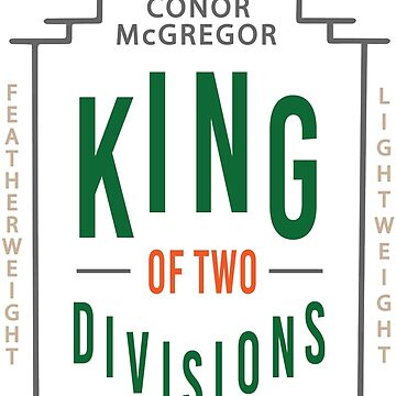 Conor McGregor King of Two Divisions The Notorious UFC MMA by CageRepublic