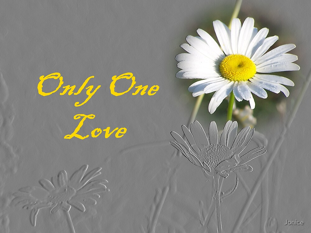 Only One Love  by Jonice