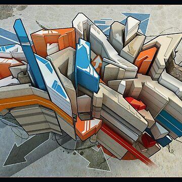 3D Graffiti Art by Staytrendy