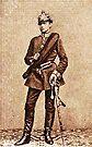 Hindenburg as a Lieutenant in 1866 by edsimoneit