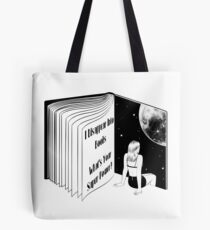 I Disappear Into Books What's Your Super Power? Tote Bag