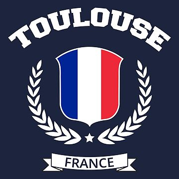 Toulouse France T-shirt by SayAhh