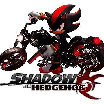 Shadow the Hedgehog - Bike by GiggleTees