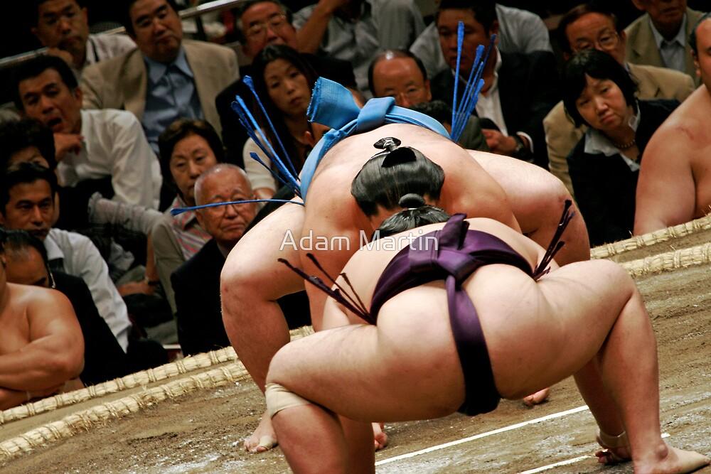 Sumo Face Off by Adam Martin