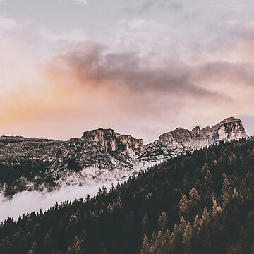 Sunset in the mountain country by DesignAt