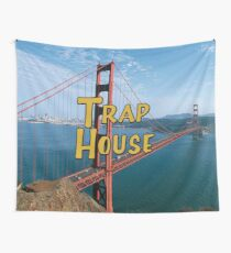 Full House Trap House Wall Tapestry