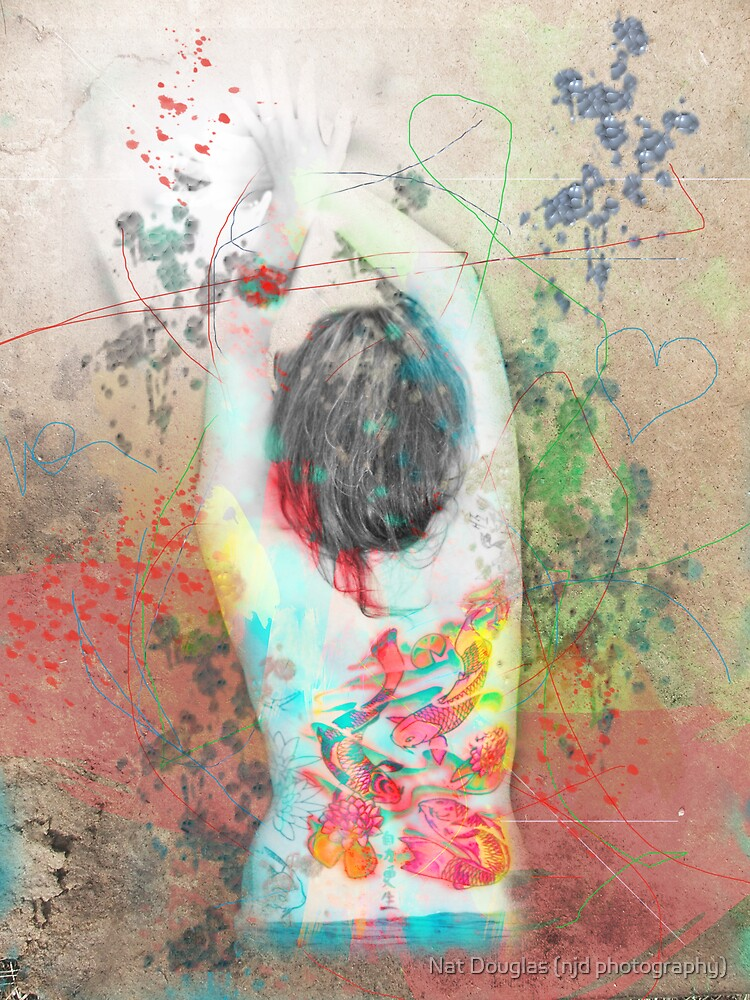 splattered (collaboration with Shelly Hiebert) by Nat Douglas (njd photography)