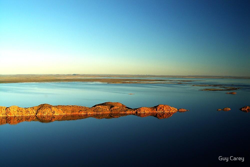 Lake Argyle Reflections by Guy Carey