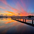Sundown at Bolton Point by Mark Snelson