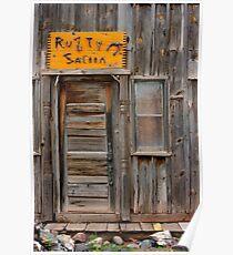 Rusty Saloon Poster