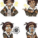 Lance sticker set by MariLimmy