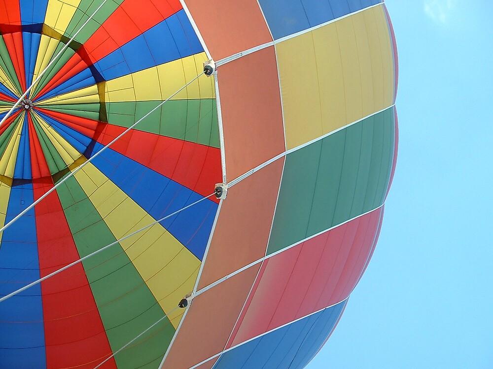 Hotair balloon against sky by MeJude