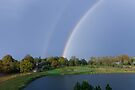 Double Rainbow by Elaine Manley