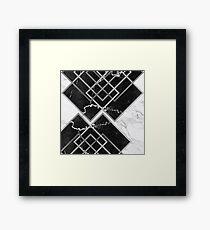 Contemporary Asymmetry Framed Print