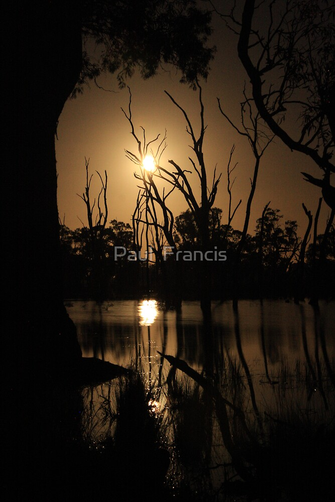 Mullinger by Moonlight by Paul  Francis