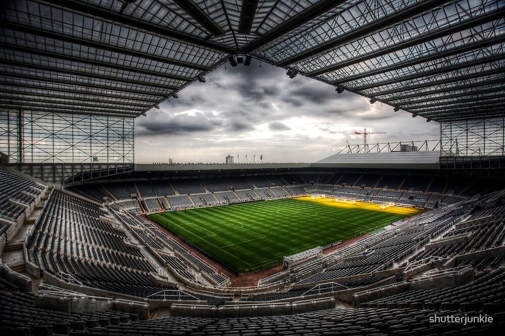 Football Stadium by shutterjunkie