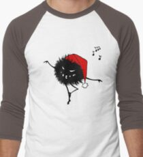 Evil Christmas Bug T-Shirt Men's Baseball ¾ T-Shirt