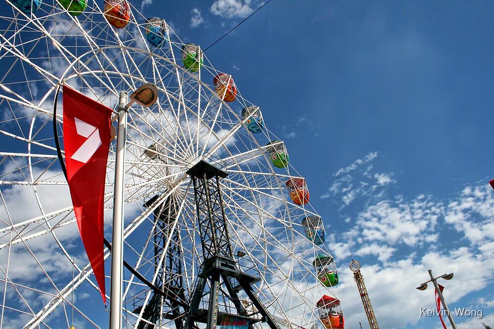 Ferry Wheel by Kelvin  Wong