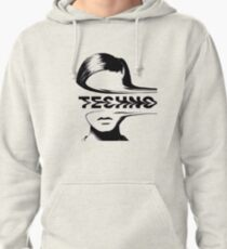 Techno Music Pullover Hoodie