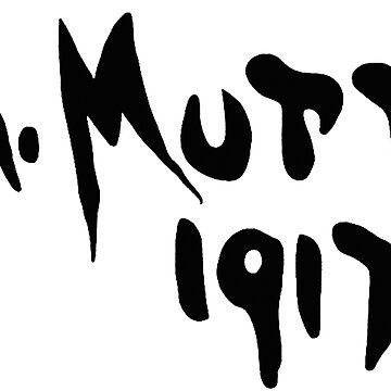 R Mutt 1917, Marcel Duchamp by opngoo