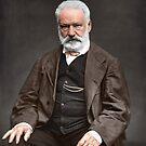 Victor Hugo by Fernando Ribeiro  Colorization