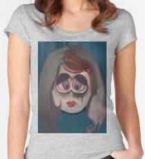 broken doll Women's Fitted Scoop T-Shirt