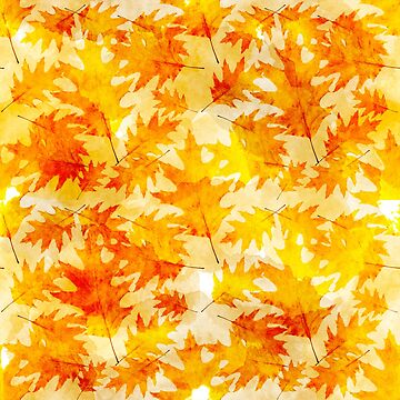 Oak Leaves Pattern by rollosphotos