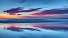 Purple Clouds on a Blue Beach by David Alexander Elder