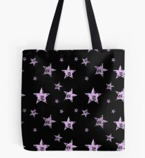 Pastel leopard print stars Tote Bag