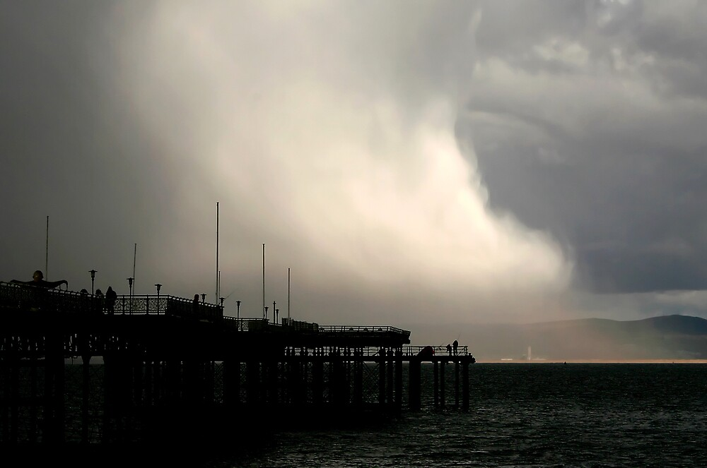 Pier Storm by Anthony Thomas