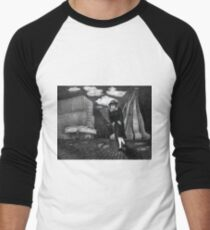 Odeon - charcoal drawing Men's Baseball ¾ T-Shirt