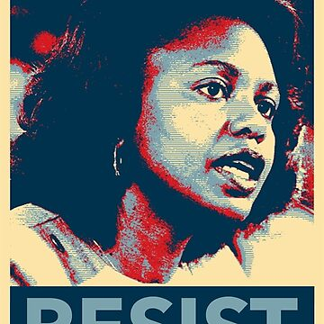 Anita Hill Resist by Thelittlelord