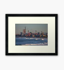 Industry World Framed Print